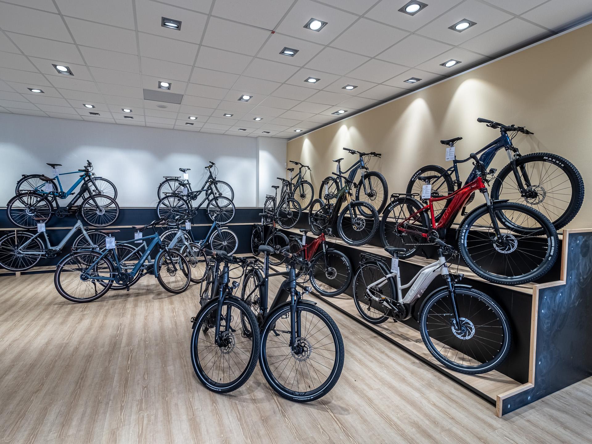 Verkauf von Fahrrädern auf Sylt