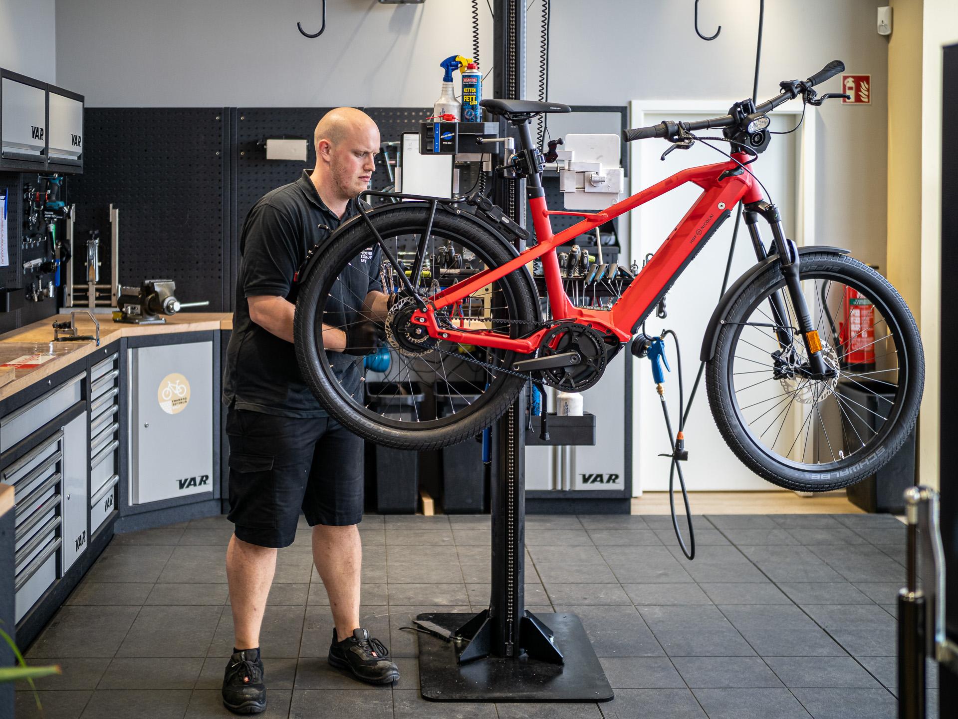 Fahrrad Reparatur Sylt
