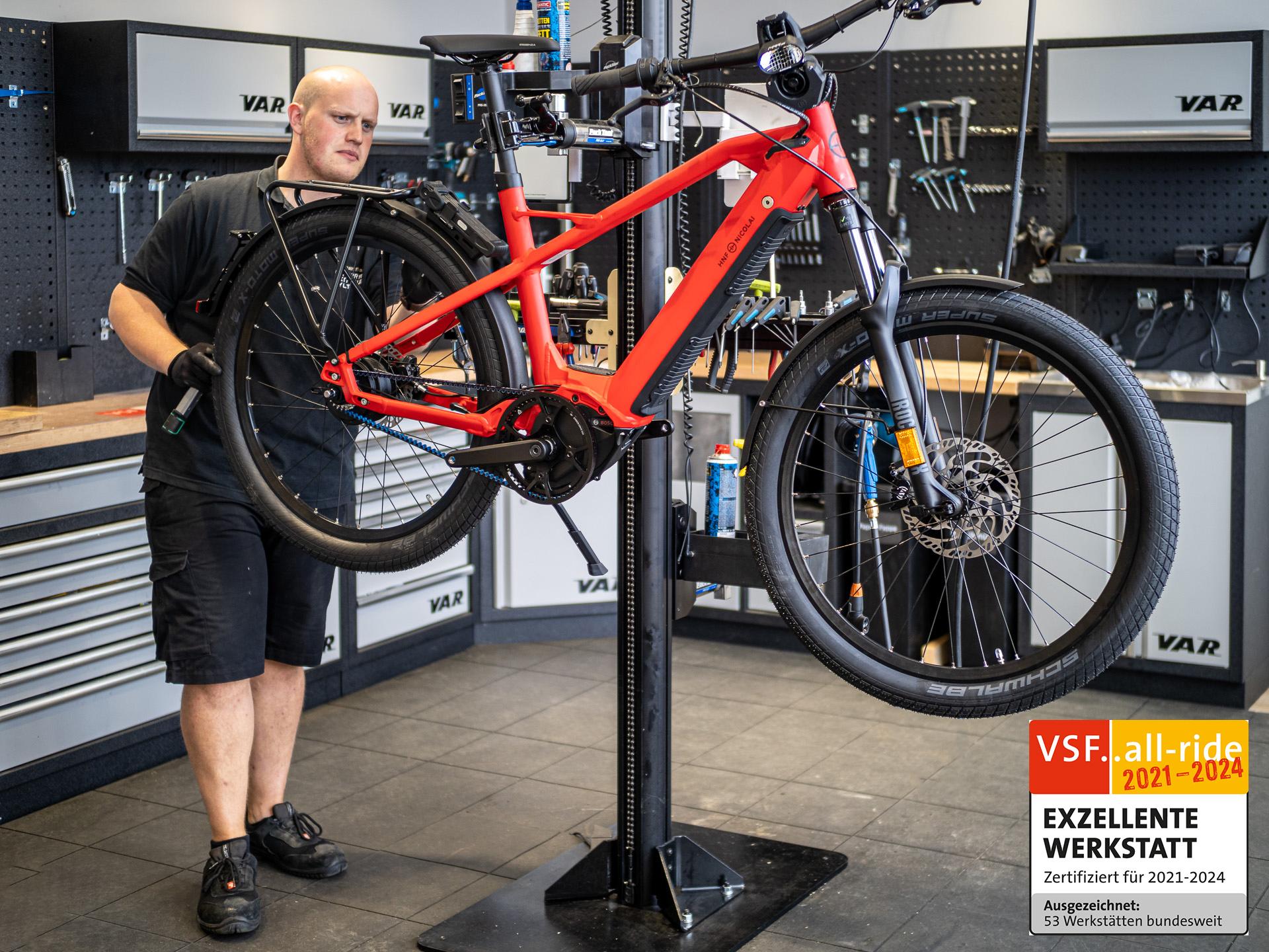 Fahrradwerkstatt auf Sylt